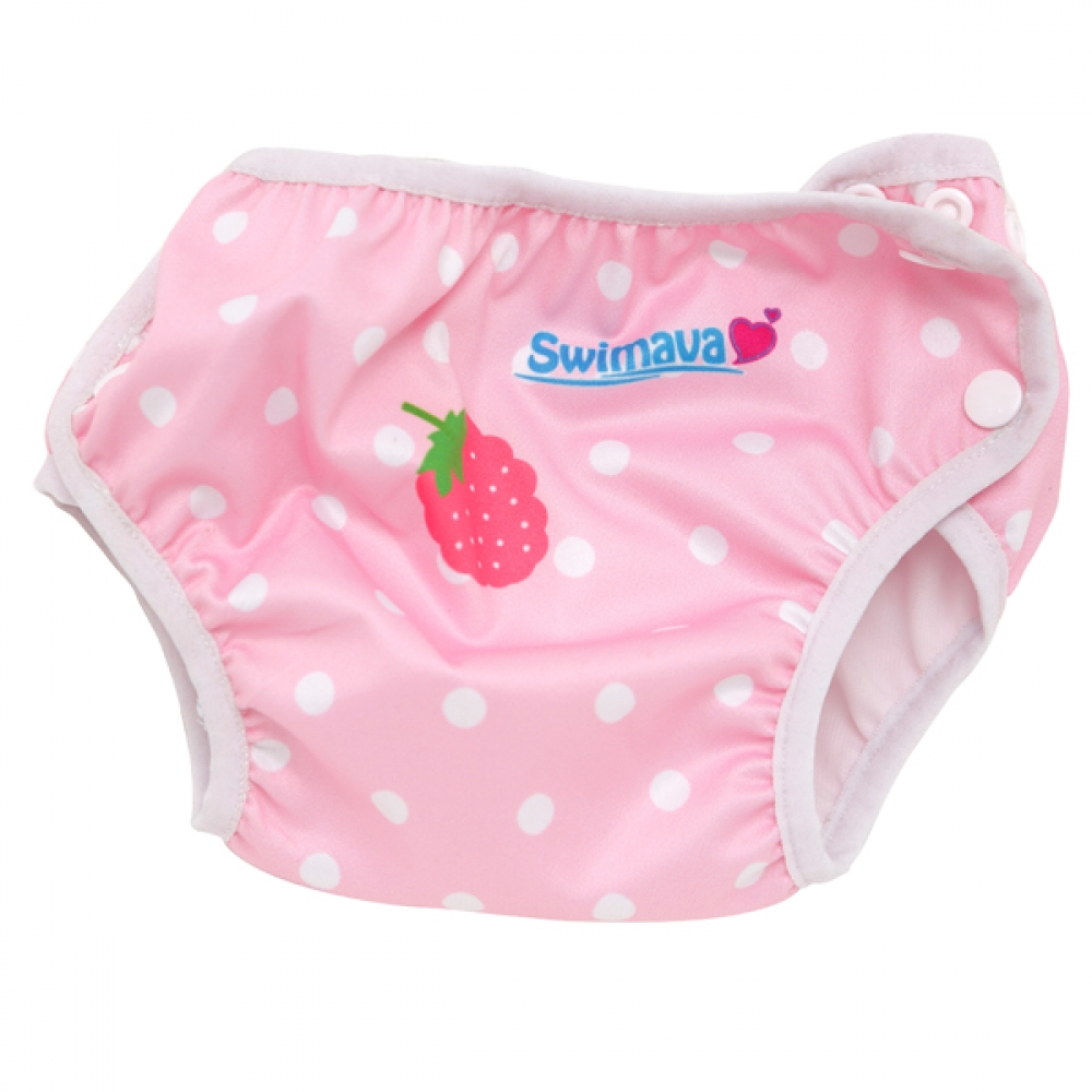 Deluxe Berry Swimava Diaper