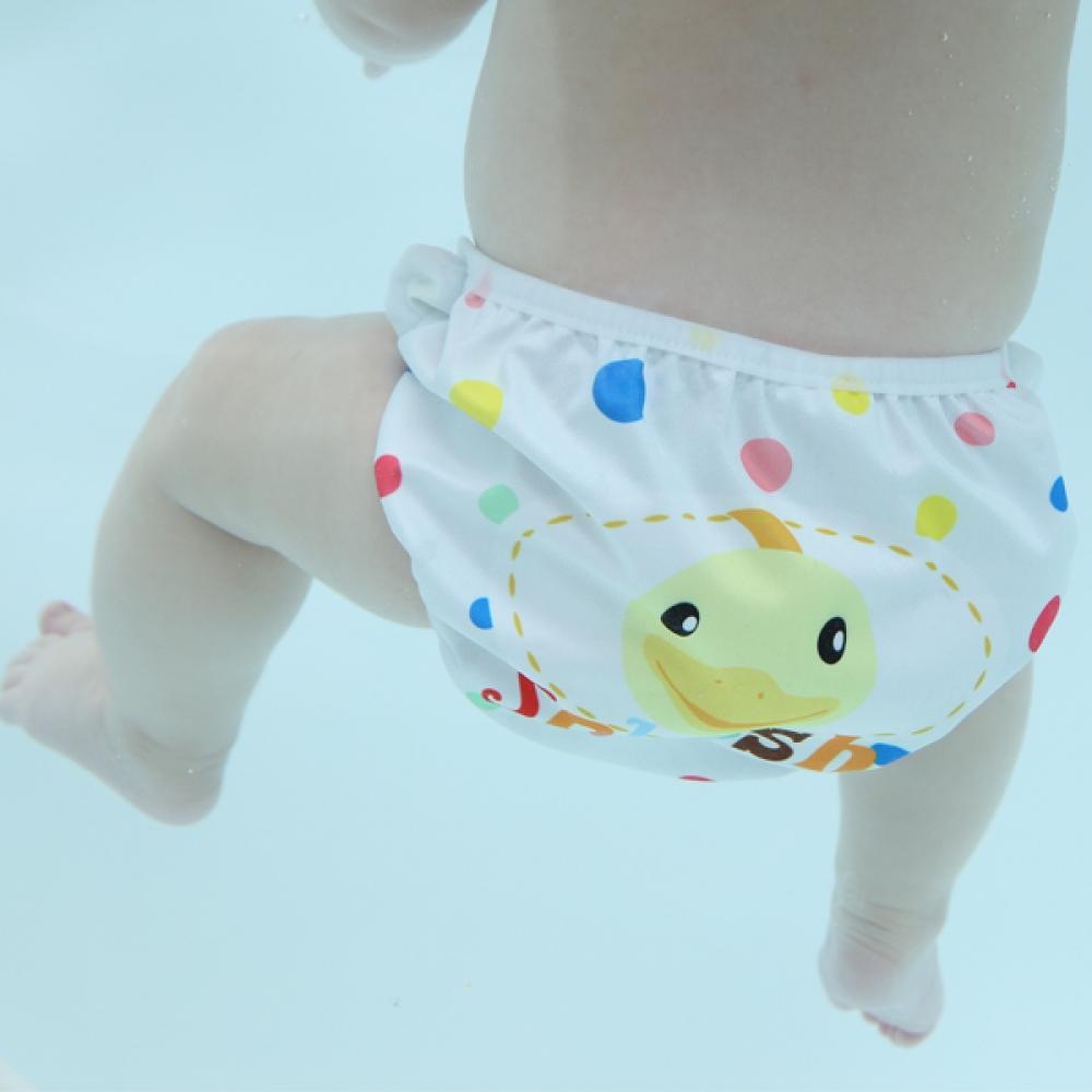 S1 Deluxe Polka Dot Swimava Diaper